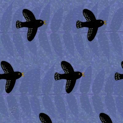 ムクドリのパターン