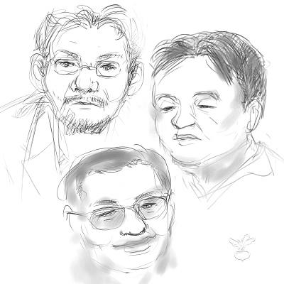 庵野監督、岡田オタキング、大地監督