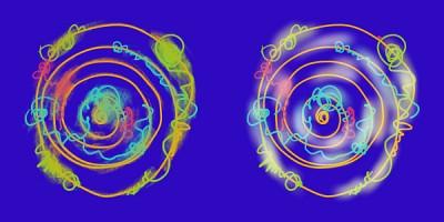 アーティストオイル系と塗潰しタイプのブレンド比較