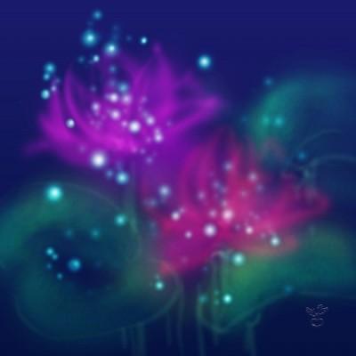 夢見るハスの花
