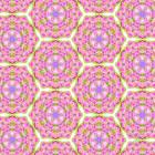 六角形に並べたパターン